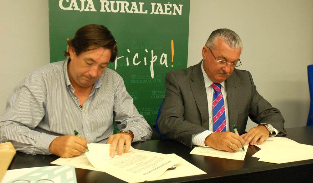 El Club de Golf la Garza firma un convenio con la Fundación Caja Rural