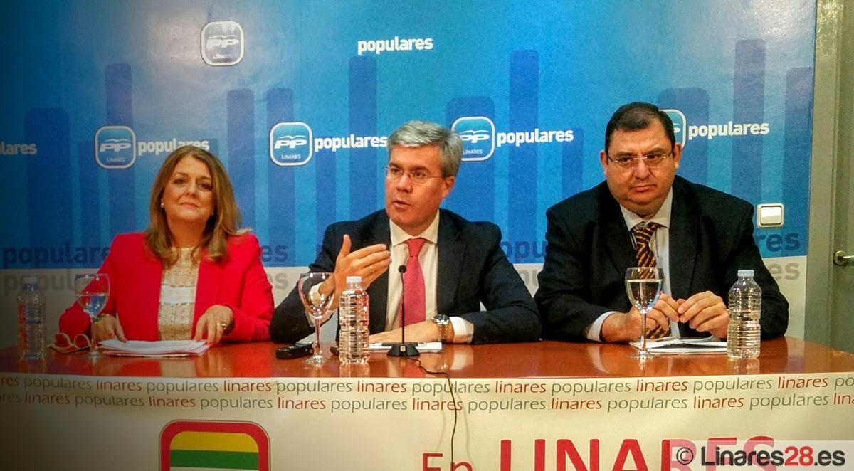 Fernández de Moya resalta en Linares que el PP ha hecho de la creación  de empleo la mejor política social