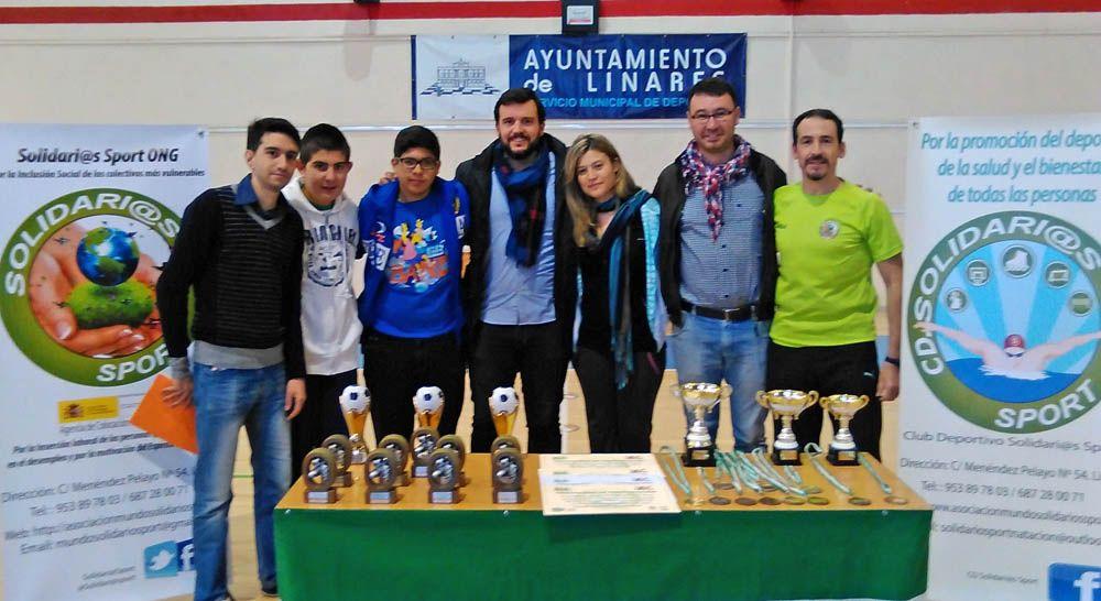 Culmina el VI Torneo Solidario de Fútbol Sala