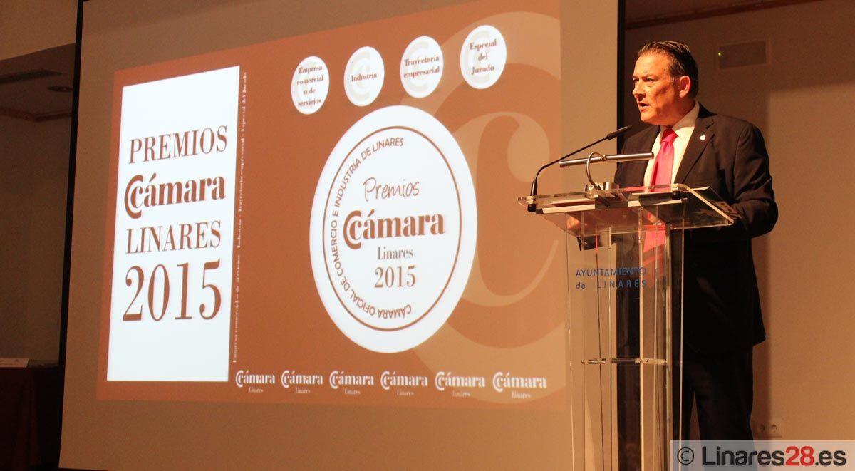 Entregados los Premios Cámara de Comercio de Linares 2015