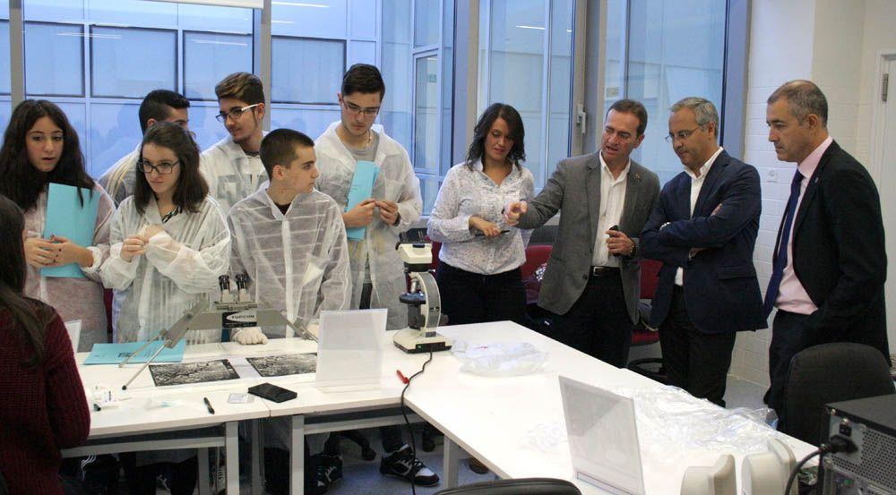 Finaliza la Semana de la Ciencia en la Universidad de Jaén con la participación de 2.600 personas
