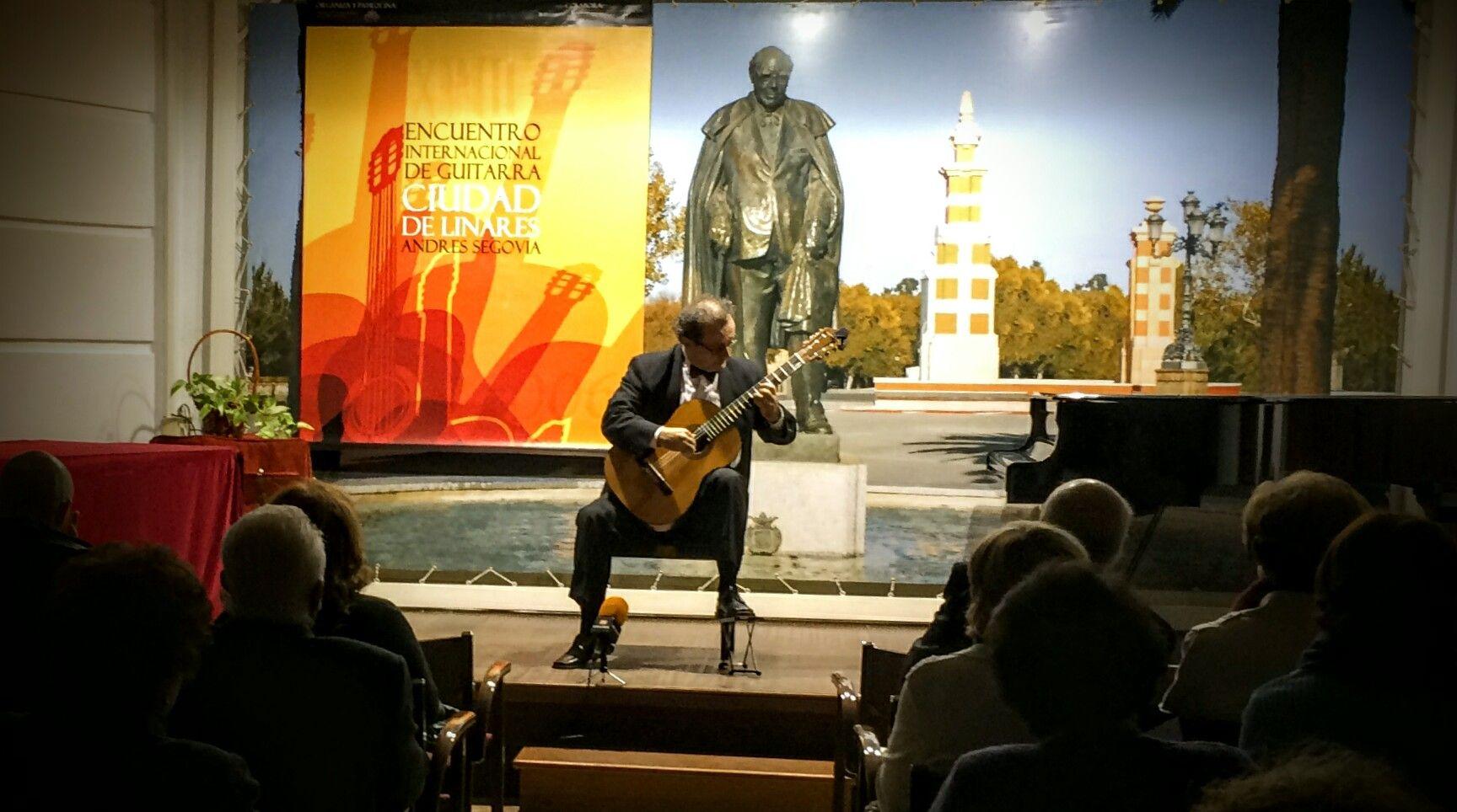 La guitarra de José Luís Ruiz del Puerto deslumbra en la Fundación