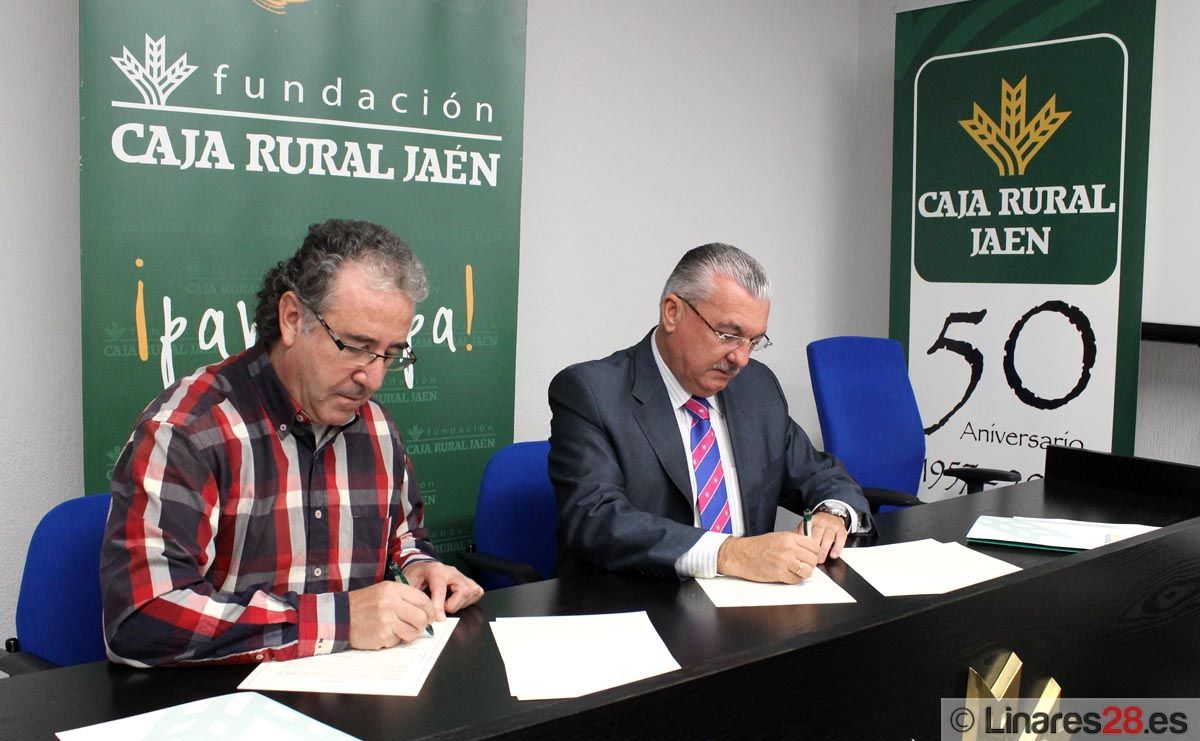 EL CDC Disminusport  firma un convenio con la Fundación Caja Rural