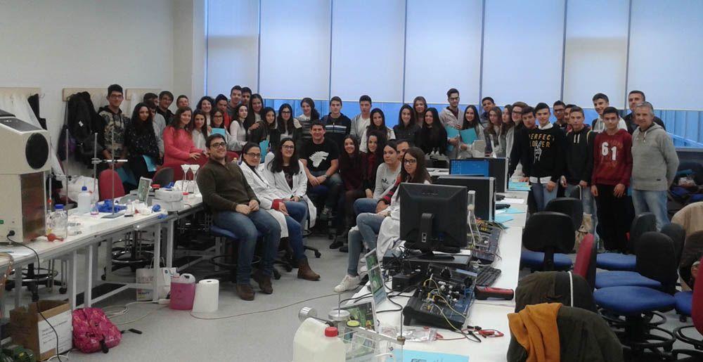 Continúan las visitas de alumnado de Bachillerato de la provincia al Campus Científico-Tecnológico de Linares