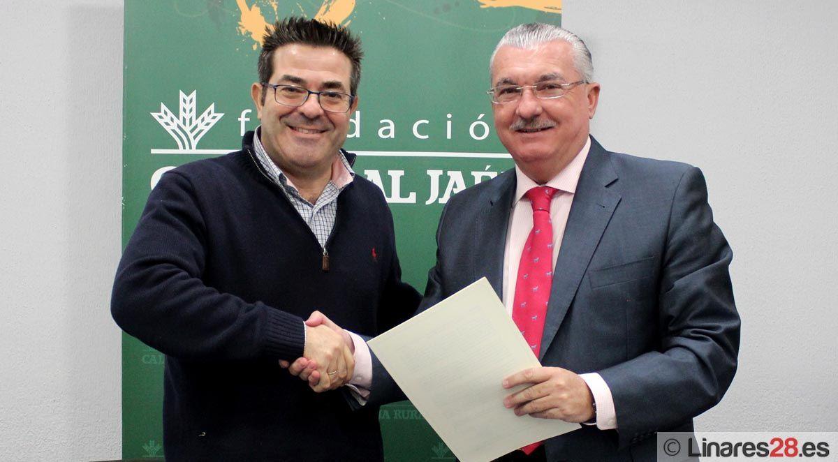 Convenio entre el Club Tenis de Mesa de Linares y la Fundación Caja Rural