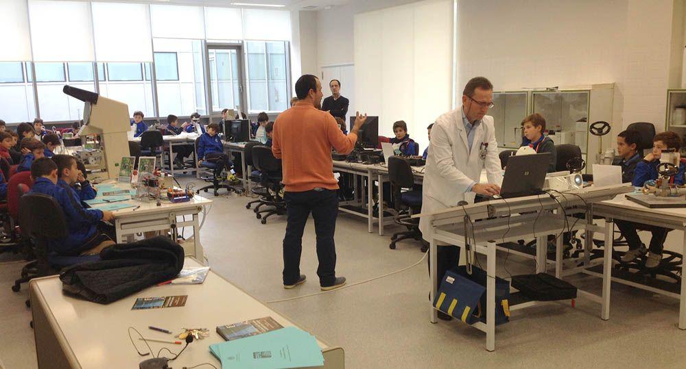 La EPSL organiza visitas para escolares al Campus Científico-Tecnológico