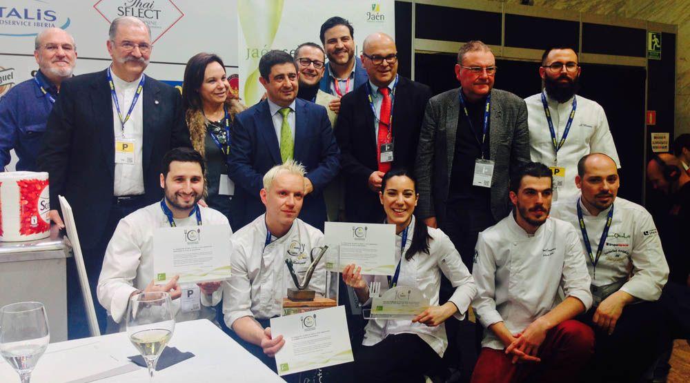 """El cocinero linarense Antonio Rubio no tuvo suerte en el Premio de Cocina con Aceite de Oliva """"Jaén, paraíso interior"""""""