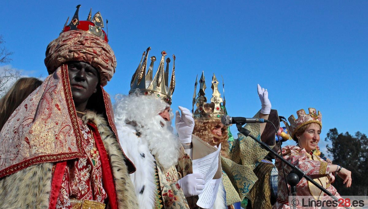 Intensa agenda de actividades de los Reyes Magos en Linares