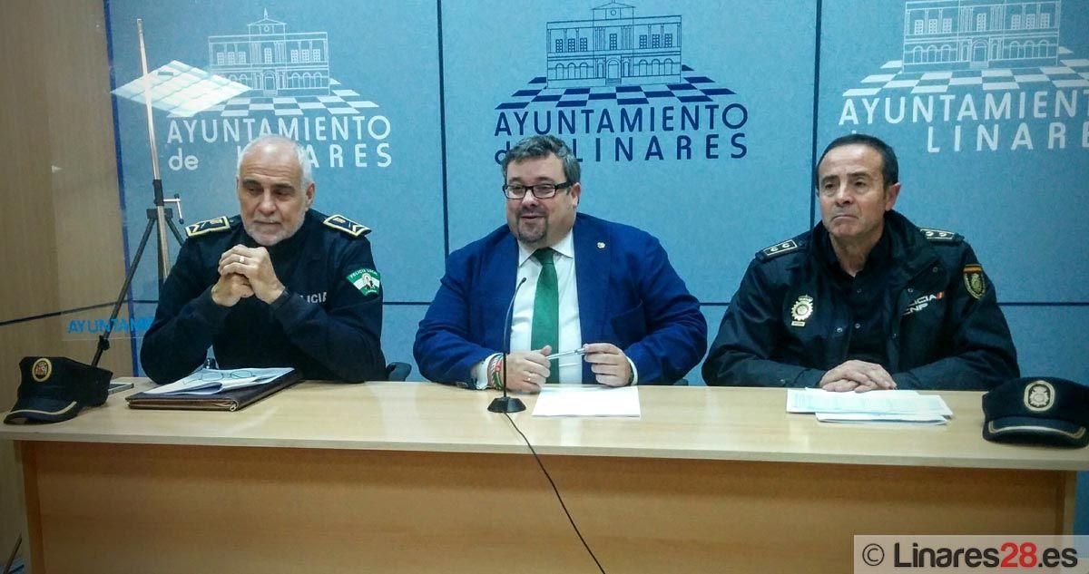 Valoración positiva de la evolución de los indices de criminalidad en Linares