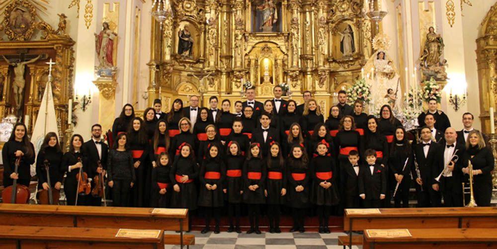 El Coro MUSICALMA en Marmolejo