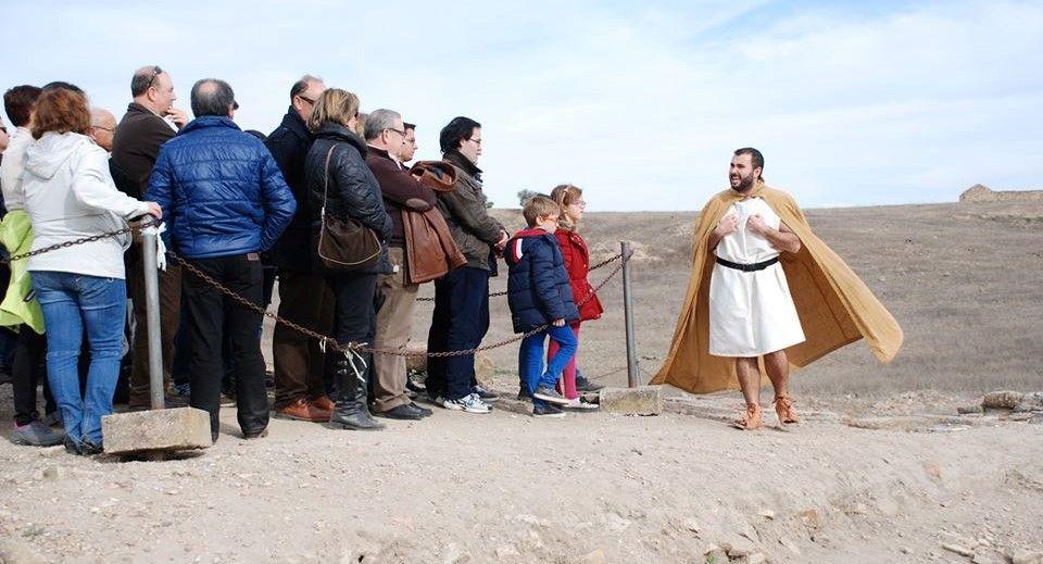 Nuevas visitas teatralizadas en Cástulo