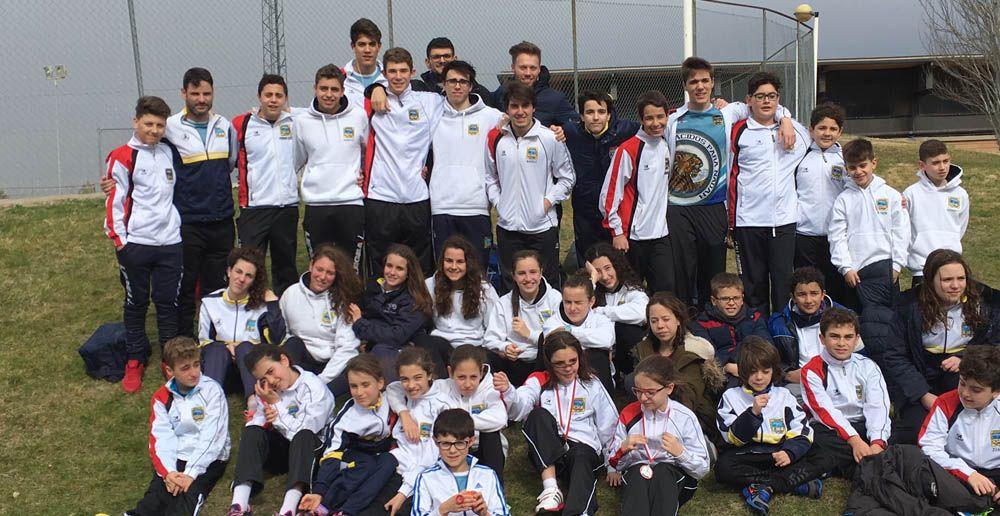 El Club Deportivo Natación Linares en el Trofeo Jaén99