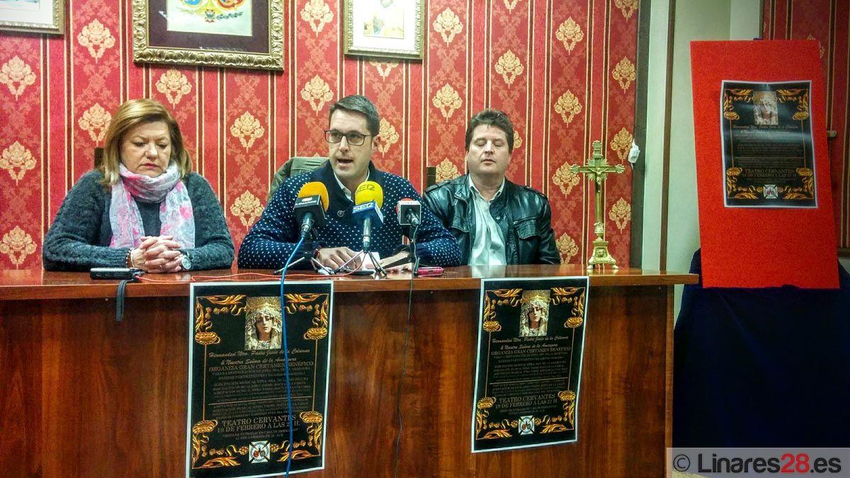 Organizan un festival a beneficio de la restauración de la imagen de Ntra. Sra. de la Amargura