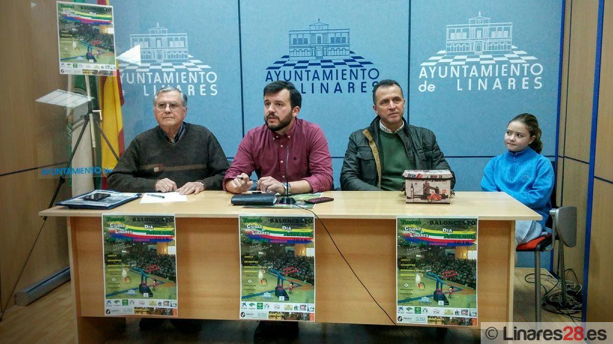 Mañana comienza el Trofeo Ciudad de Linares de Baloncesto