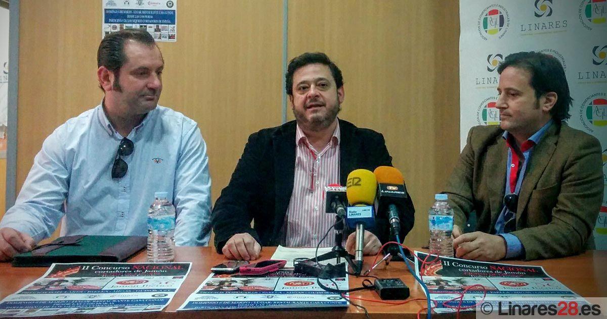 """Presentan la II Edición del Concurso Nacional de Cortadores de Jamón """"Ciudad de Linares"""""""