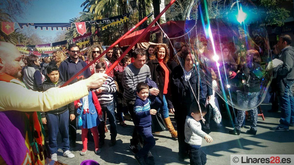 Éxito de público en el Mercado Medieval de Linares