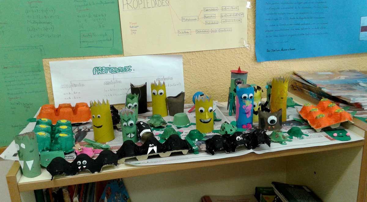 """Los alumnos de diferentes centros de Linares siguen aprendiendo con el proyecto """"Vive en Verde"""""""