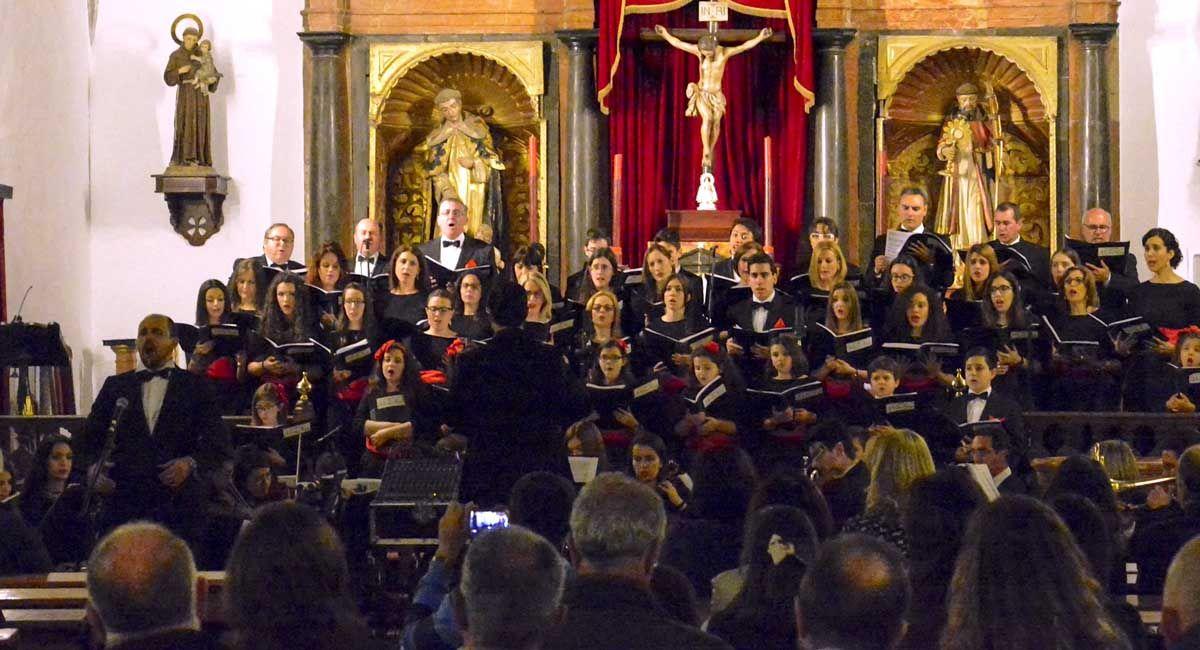 CONCIERTO DEL CORO Y ORQUESTA MUSICALMA EN EL XIII FESTIVAL INTERNACIONAL DE MUSICA CIUDAD DE LA RAMBLA 2016