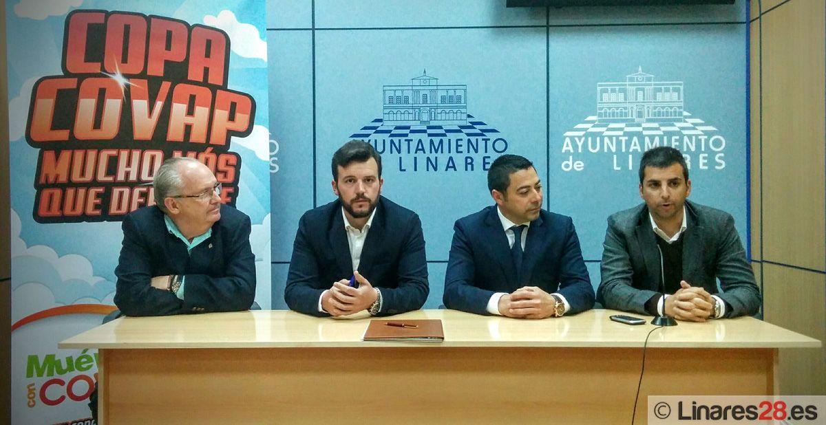 La Copa COVAP llega a Linares