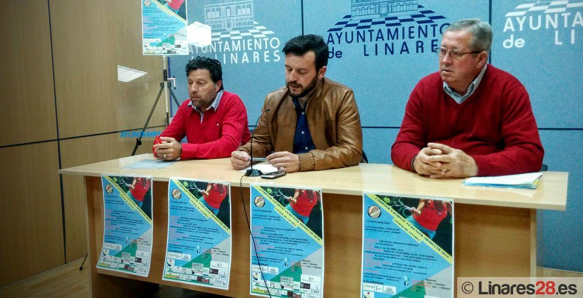 """Linares alberga el """"I Torneo Nacional Femenino Absoluto de Tenis Ciudad de Linares"""""""