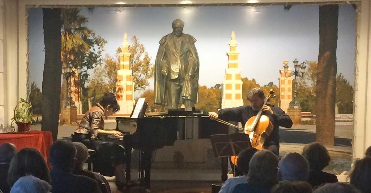 Concierto de violonchelo y piano en la Casa Museo Andrés Segovia