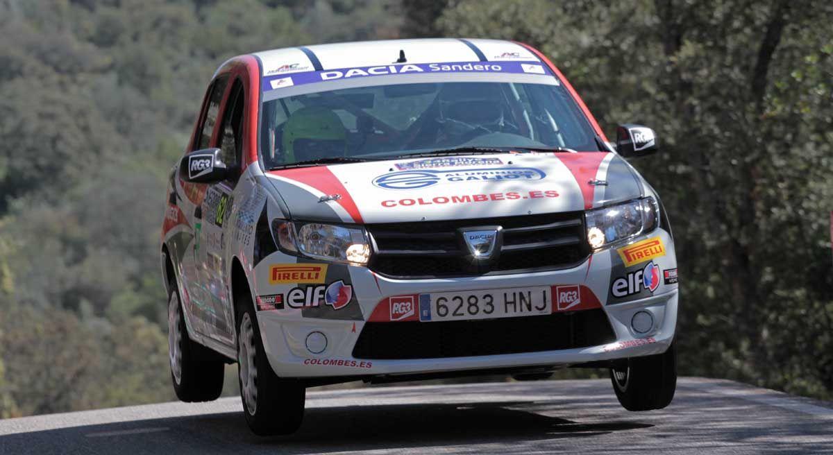 Carlos Chamorro cuarto en el Rallye Sierra Morena