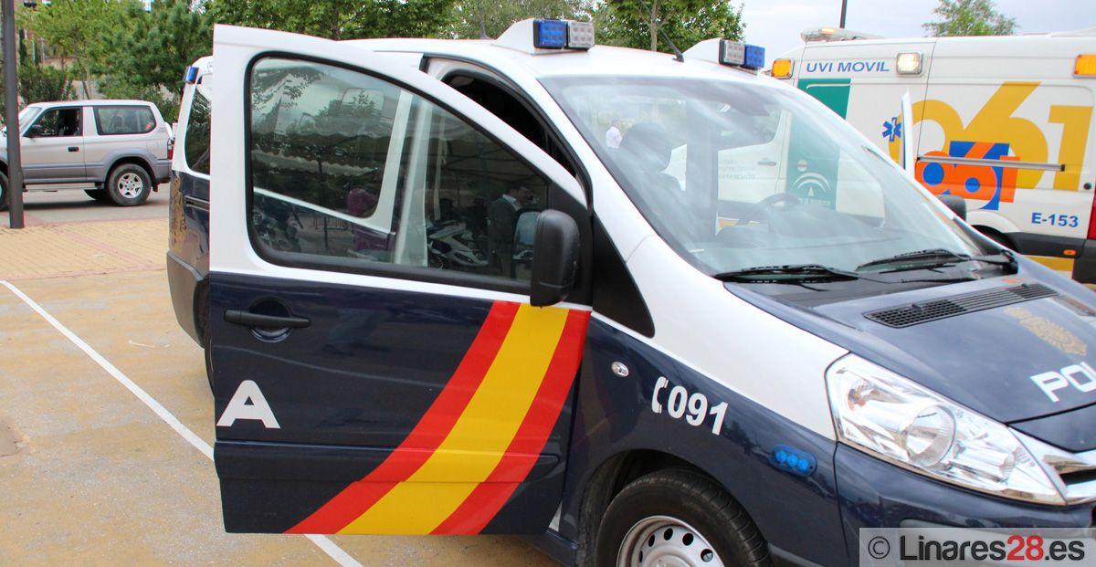 Dispositivo especial de Policía Nacional y Guardia Civil para el partido entre el Linares Deportivo y el Real Jaén
