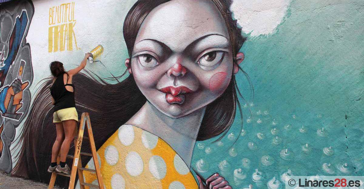 Certamen graffiti en Linares
