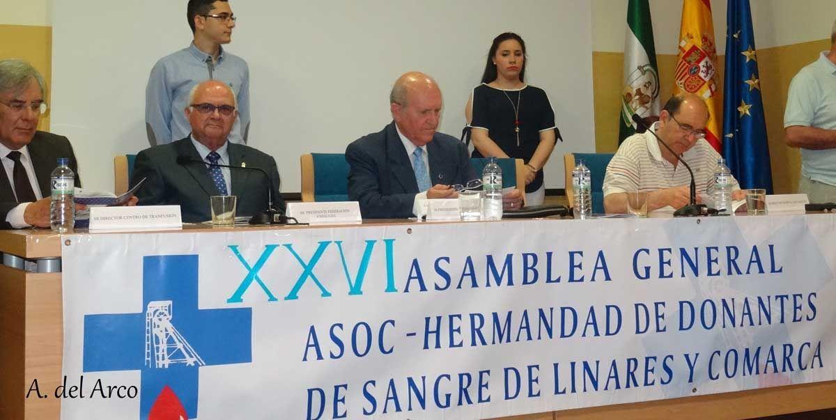 """XXVI ASAMBLEA GENERAL ORDINARIA """"DONANTES DE SANGRE LINARES y COMARCA"""""""