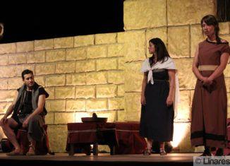 Representación de obra teatral en Cástulo