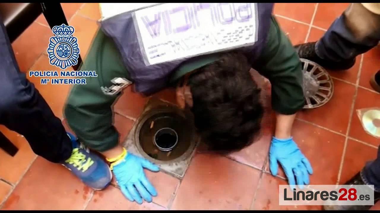 La Policía Nacional desmantela tres puntos negros de venta y distribución de droga en Linares