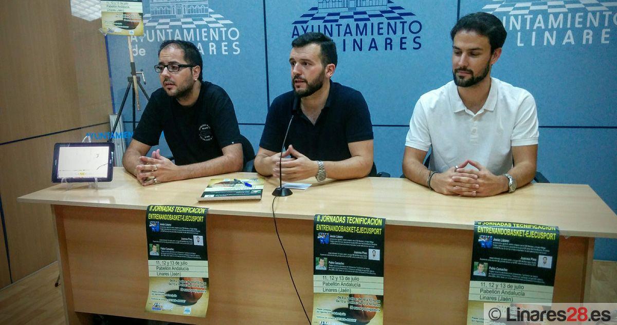 """Linares celebra este fin de semana las """"II Jornadas de tecnificación Entrenadobasket-ejecusport"""""""