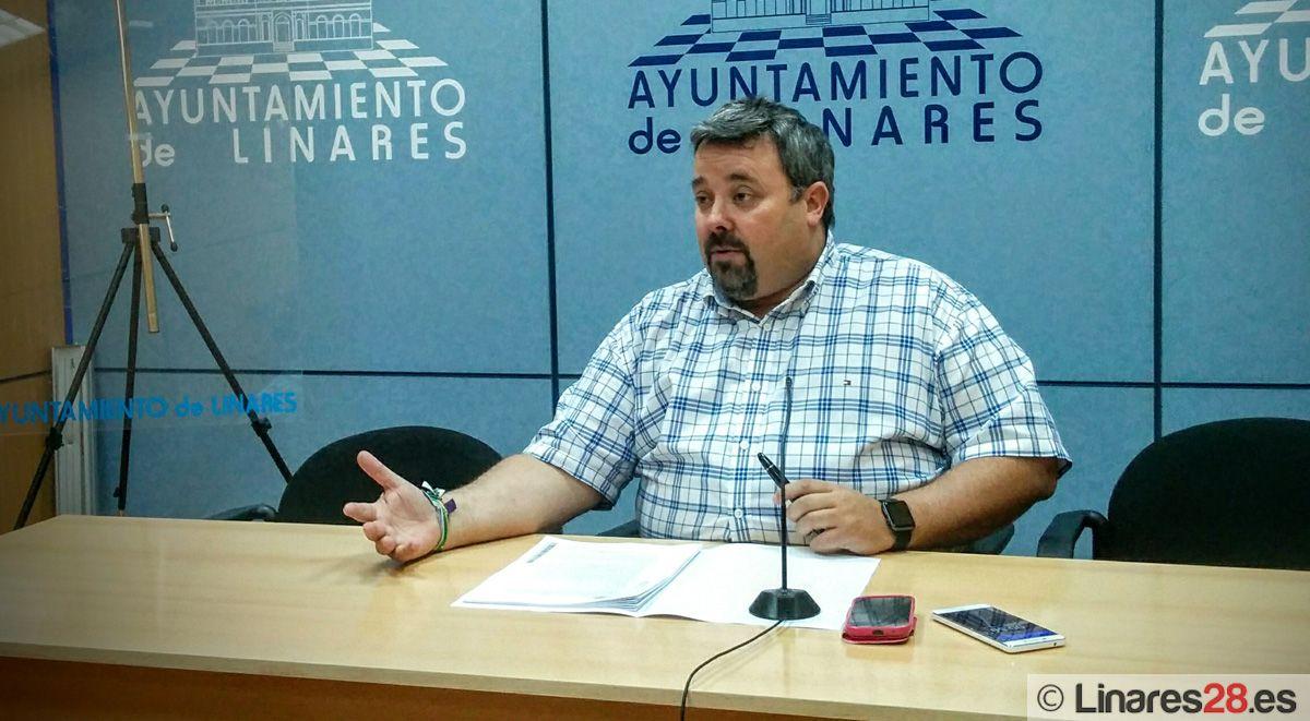 Luis Moya repasa los aspectos más destacados del Pleno del Ayuntamiento de Linares de hoy