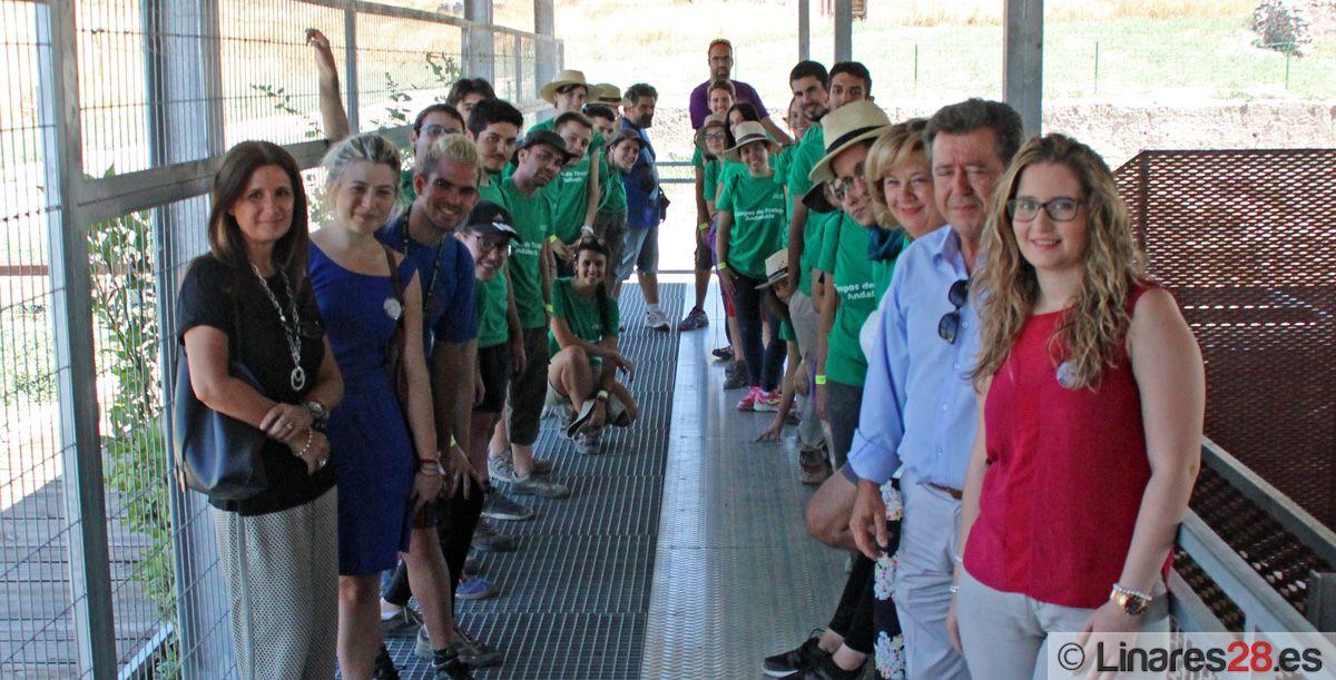El XII Campo de Trabajo del Yacimiento Arqueológico de Cástulo acogerá a 25 jóvenes este verano