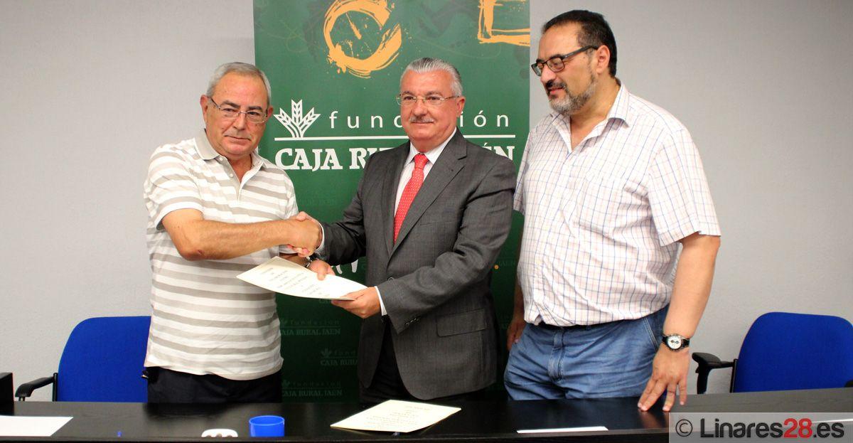 FIRMA DE CONVENIO ENTRE LA ASOCIACIÓN SOCIOEDUCATIVA Y CULTURAL POVEDA Y FUNDACIÓN CAJA RURAL DE JAÉN
