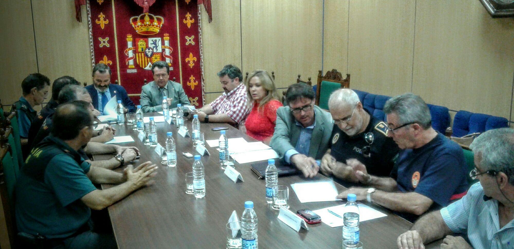 120 efectivos de las FCSE participarán en el dispositivo de la Feria de San Agustín de Linares