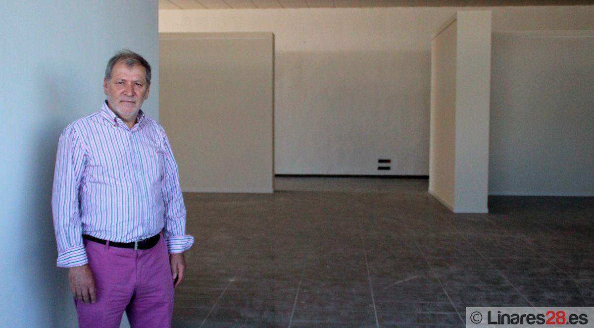 La iniciativa privada brinda un nuevo espacio expositivo para Linares
