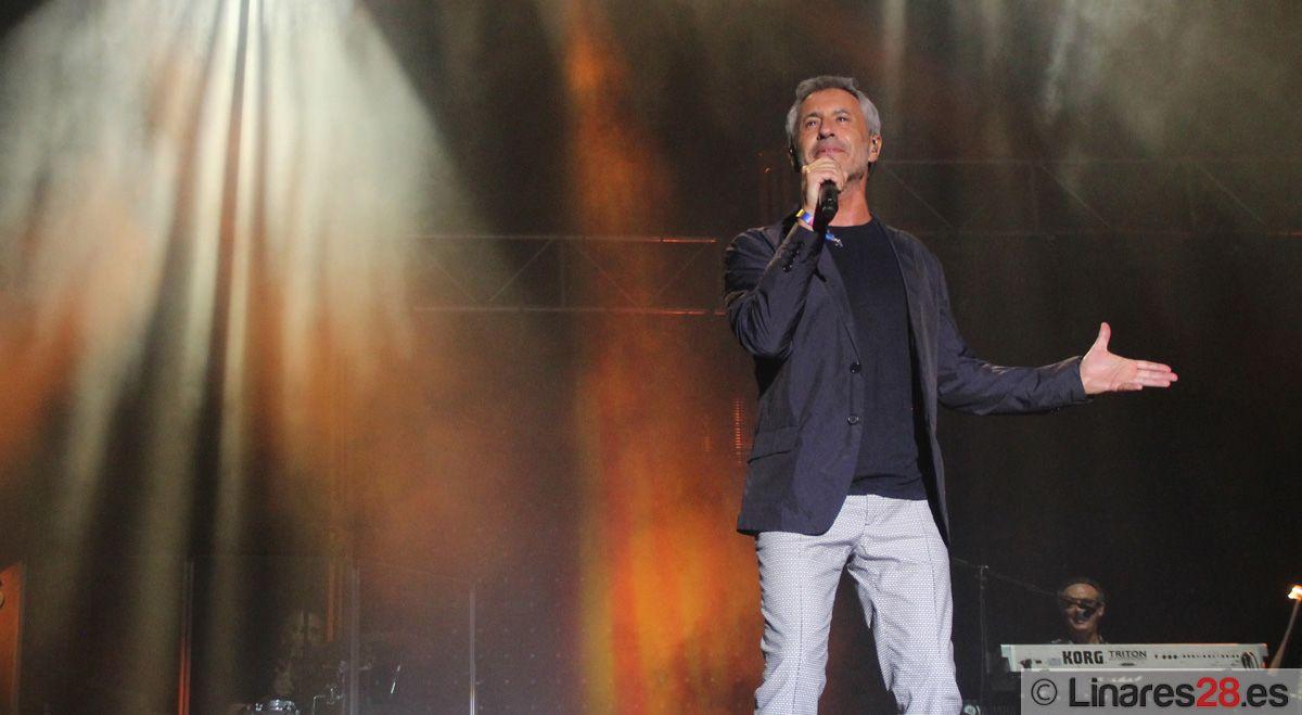 La voz de Sergio Dalma inunda el recinto de conciertos