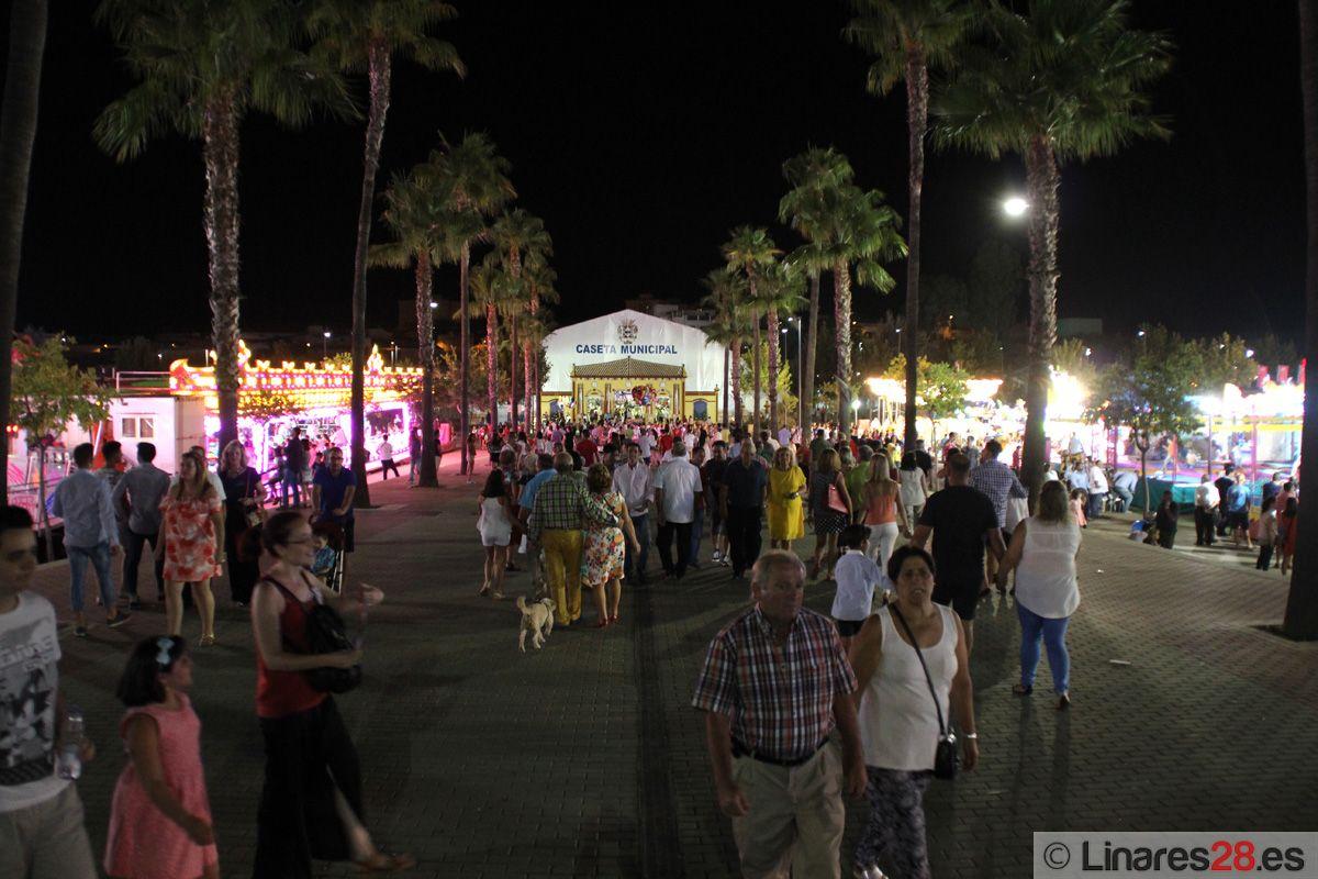 Alegría en Linares en el día grande de Feria