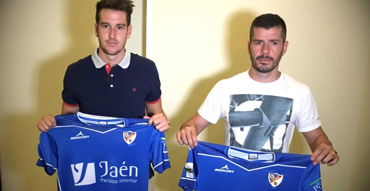 El Linares Deportivo presenta a Sergi Guilló y Víctor Curto
