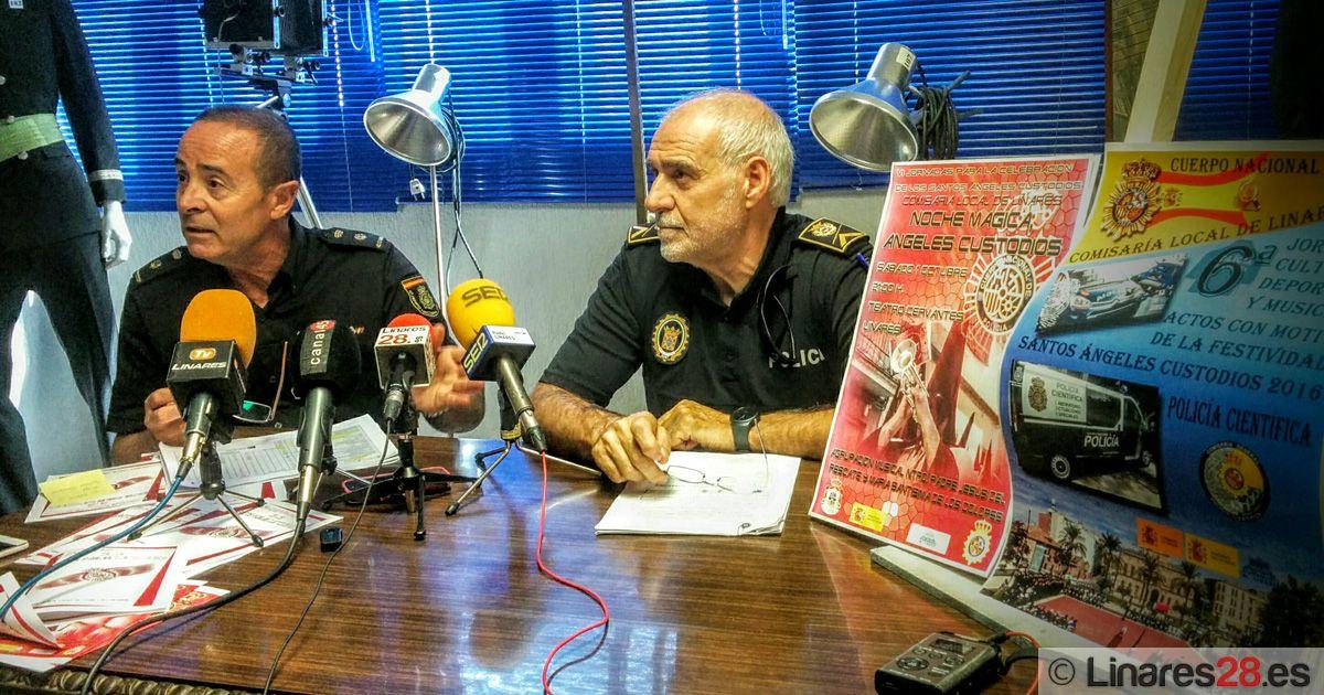 El Cuerpo Nacional de Policía de Linares prepara la festividad de los Ángeles Custodios