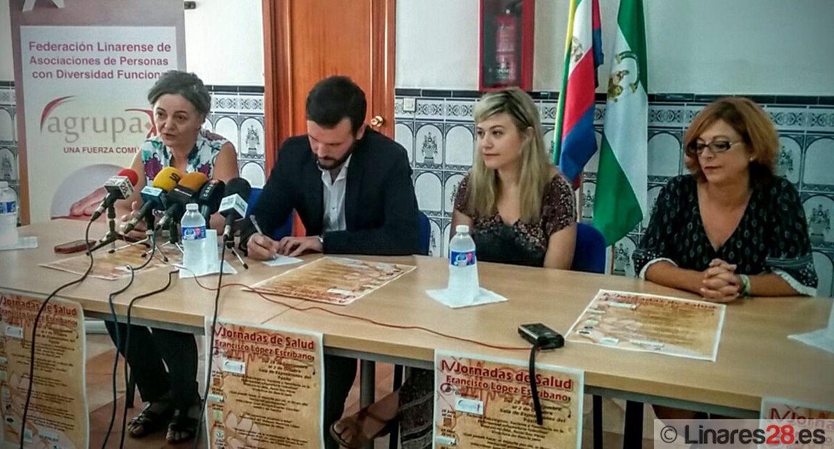 """Presentadas las IV Jornadas de Salud """"Francisco López Escribano"""""""