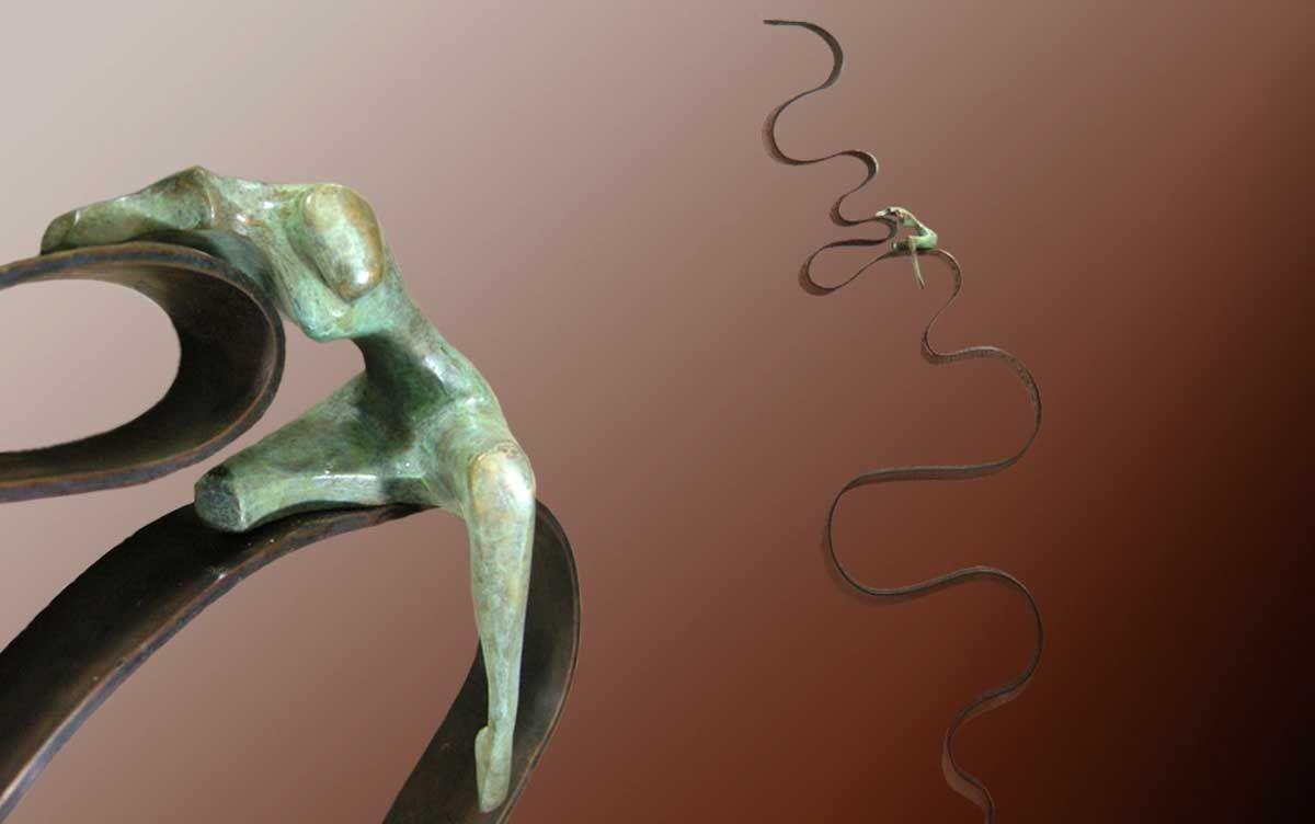 Inauguración de la exposición de esculturas de María Sánchez