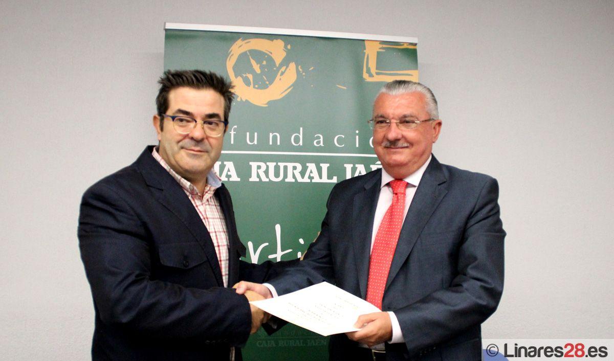 CONVENIO ENTRE EL CLUB DE TENIS DE MESA LINARES Y FUNDACIÓN CAJA RURAL DE JAÉN