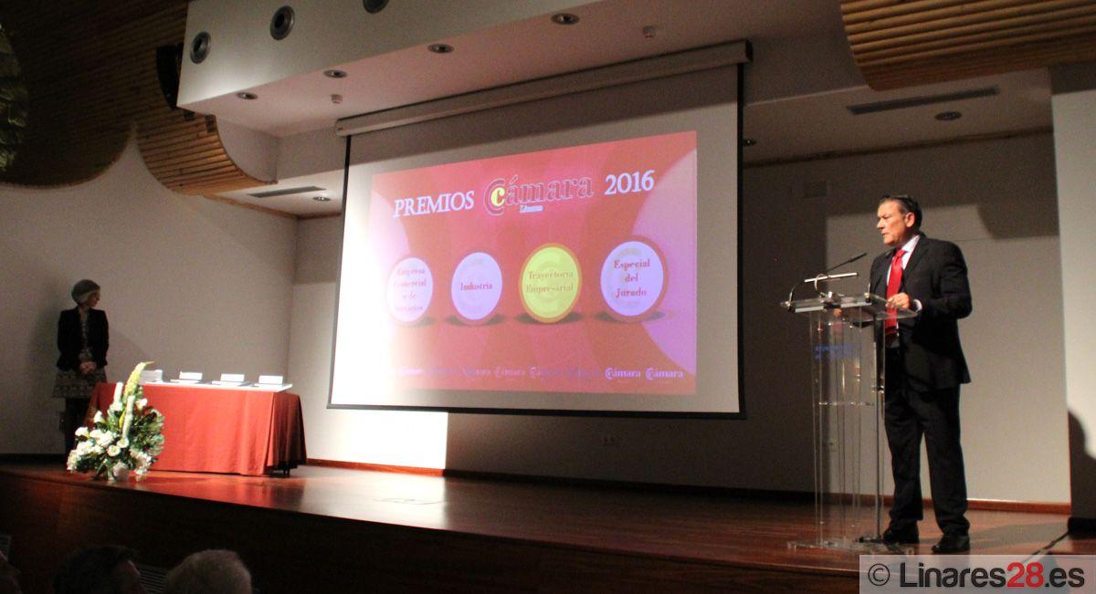 Entregados los Premios Cámara de Comercio de Linares 2016