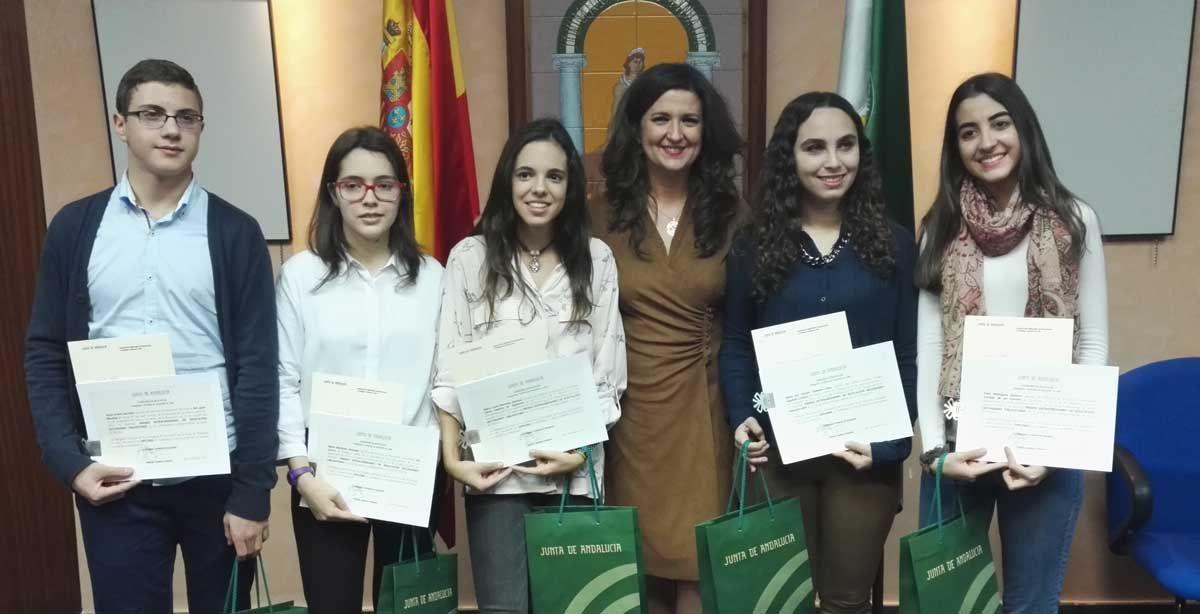 La linarense María del Carmen Talavera, Premio Extraordinario de ESO