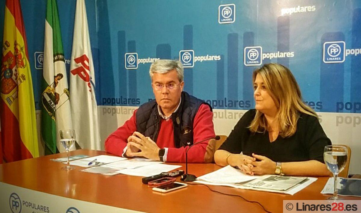 El PP critica desde Linares los presupuestos de la Junta de Andalucía