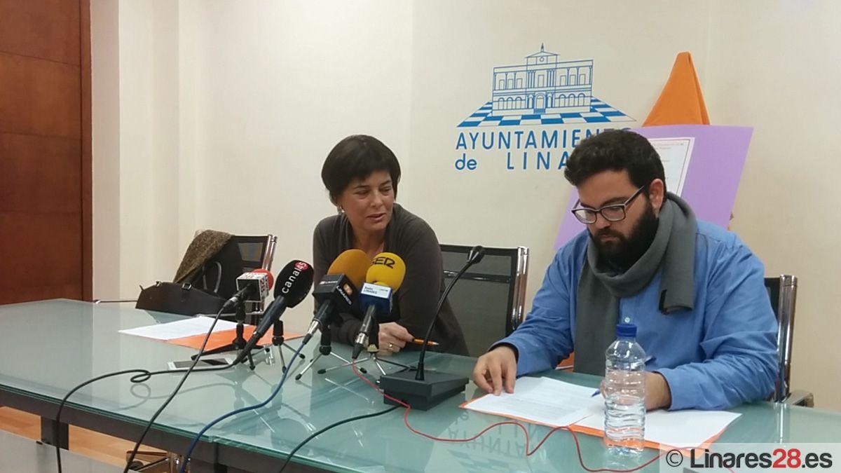 Ciudadanos Linares presenta sus actividades para el día 25N