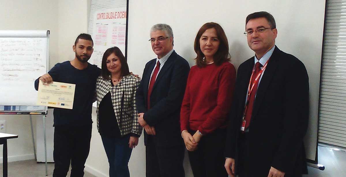 Fundación Secretariado Gitano Linares clausura el programa Aprender Trabajando