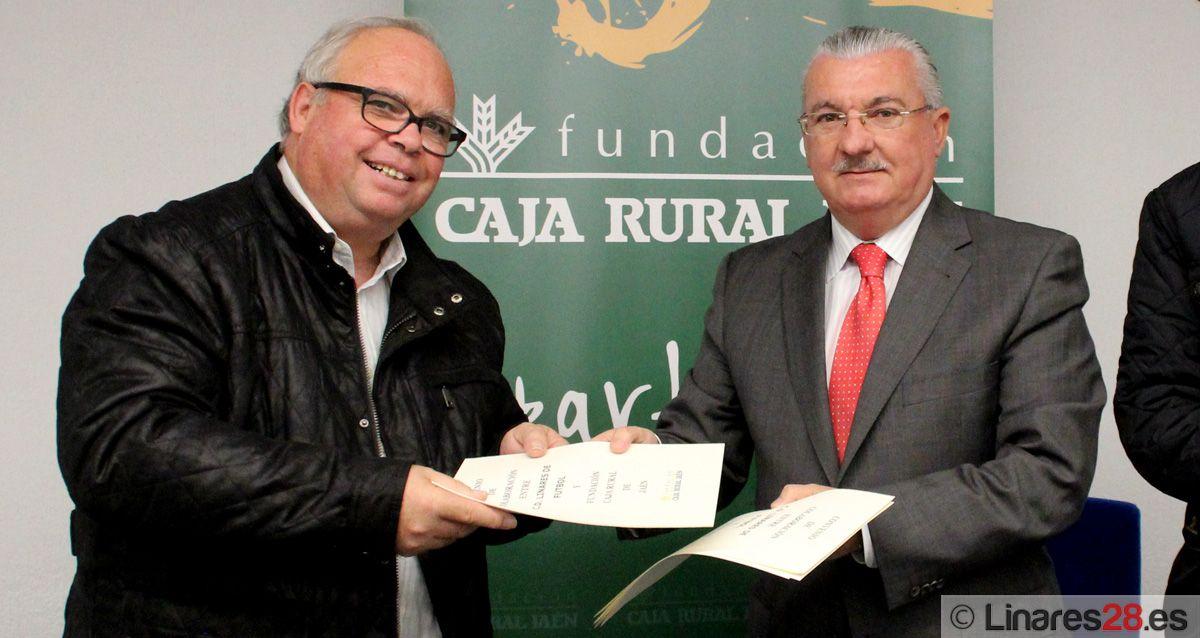Convenio entre Fundación Caja Rural y Linares C.F. y F. S.